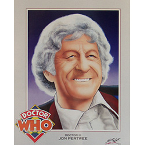 Doctor Who: 3rd Doctor (Jon Pertwee) - Vintage Spirit of Light Mini Poster from 1983