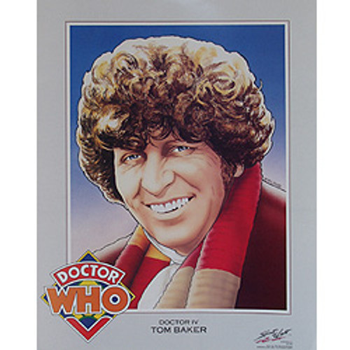Doctor Who: 4th Doctor (Tom Baker) - Vintage Spirit of Light Mini Poster from 1983