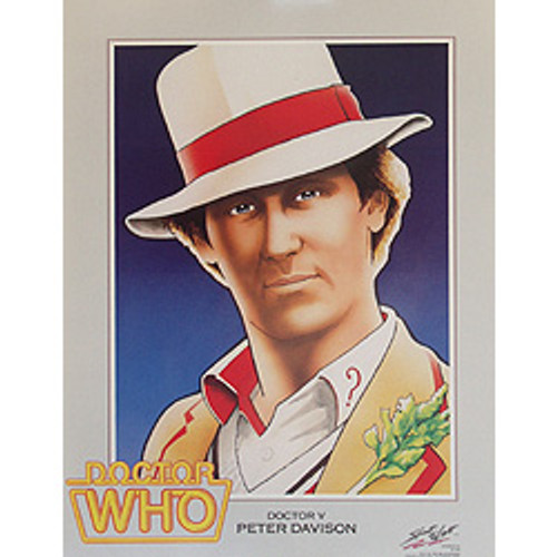 Doctor Who: 5th Doctor (Peter Davison) - Vintage Spirit of Light Mini Poster from 1983