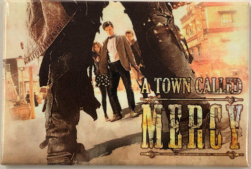 Doctor Who Episode Magnet - A TOWN CALLED MERCY