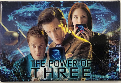 Doctor Who Episode Magnet - POWER OF THREE