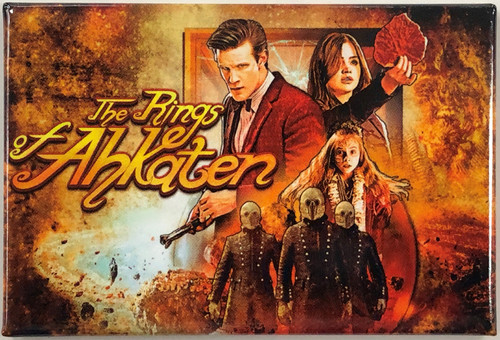 Doctor Who Episode Magnet - RINGS OF AKHATEN