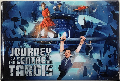 Doctor Who Episode Magnet - JOURNEY TO THE CENTRE OF THE TARDIS