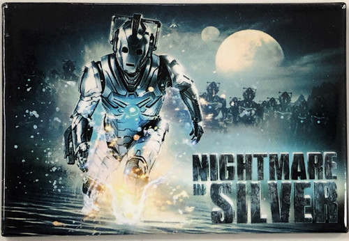Doctor Who Episode Magnet - NIGHTMARE IN SILVER