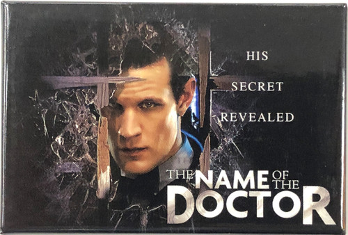 Doctor Who Episode Magnet - NAME OF THE DOCTOR