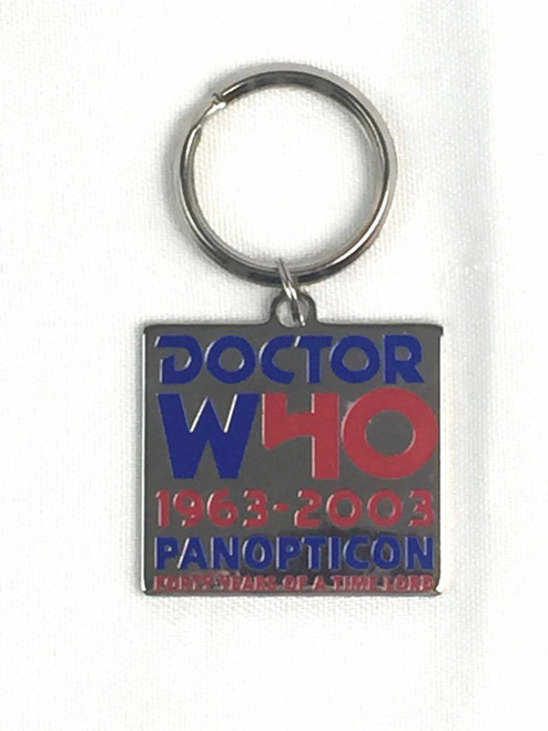 Doctor Who:  40th Anniversary UK Convention Exclusive Keyring from 2003