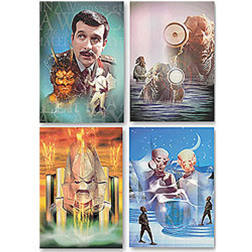 Doctor Who Classic TV UK Imported Greeting Card set #2 (4 different cards)