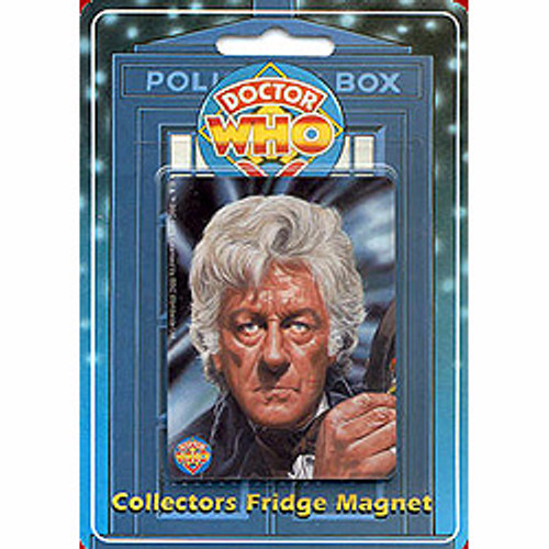 Doctor Who: 3rd Doctor (Jon Pertwee) UK Imported Fridge Magnet