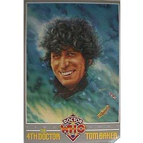 Doctor Who Vintage 1980's Laminated Poster - 4th Doctor (Tom Baker)