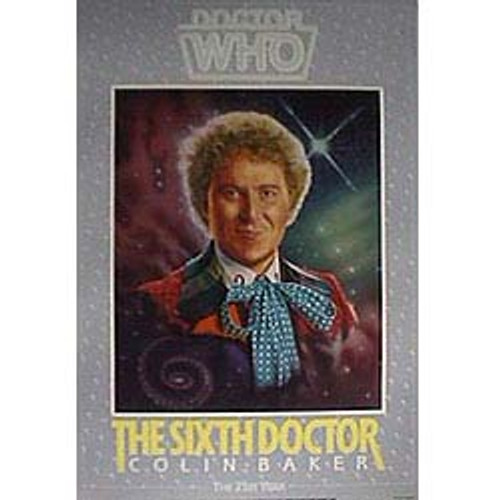 Doctor Who Vintage 1980's Laminated Poster - 6th Doctor (Colin Baker)