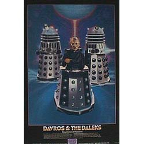 Doctor Who Vintage 1980's Laminated Poster - DAVROS (Terry Molloy)