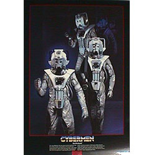 Doctor Who Vintage 1980's Laminated Poster - CYBERMEN