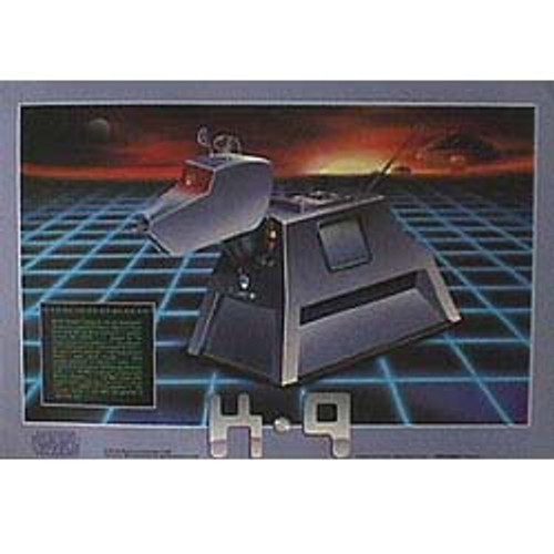 Doctor Who Vintage 1980's Laminated Poster - K-9