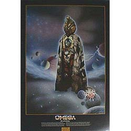 Doctor Who Vintage 1980's Laminated Poster - OMEGA