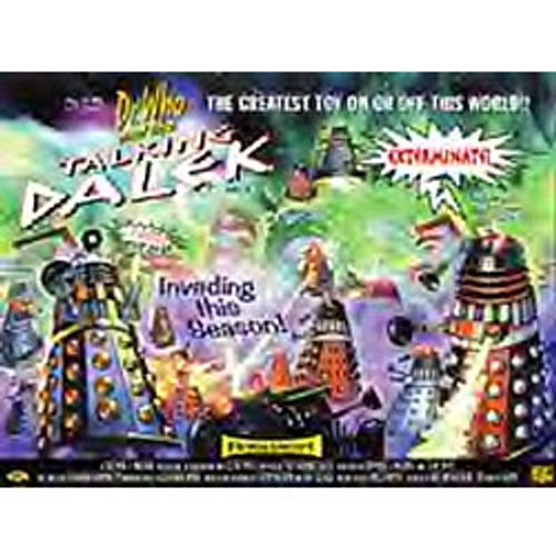 "Doctor Who: Product Enterprise Talking Dalek ""Promo"" Poster (Mint Rolled)"