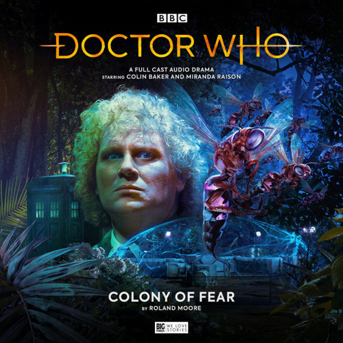 Doctor Who: COLONY OF FEAR - Big Finish 6th Doctor Audio CD #273