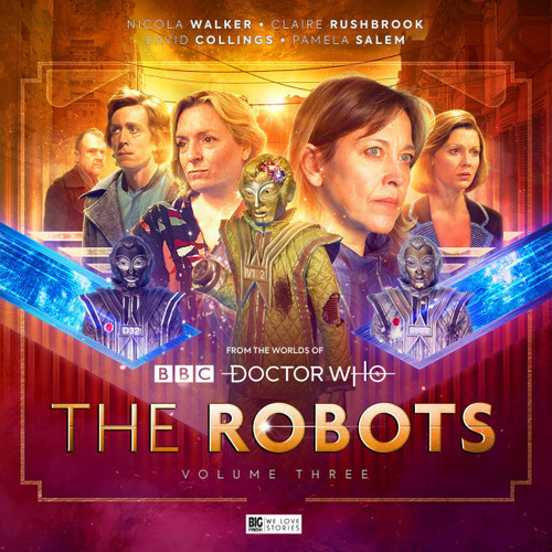 Doctor Who - The ROBOTS 3 - Big Finish Audio CD Boxed Set