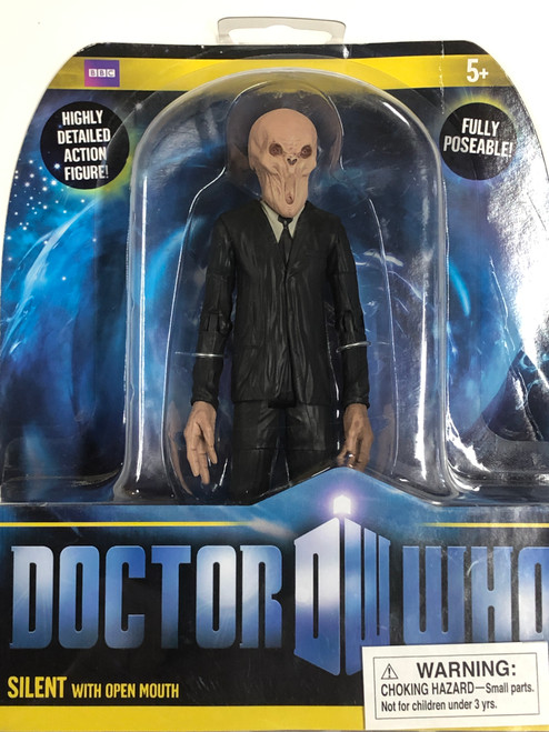 Doctor Who New Series - SILENT (Open Mouth) - Series 6 Action Figure - Character Options