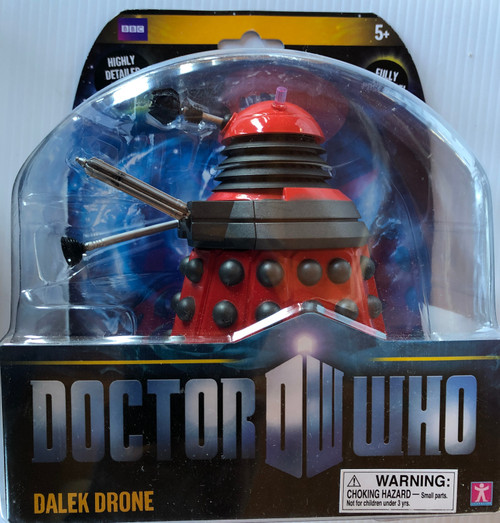 Doctor Who New Series Action Figure - RED DRONE DALEK