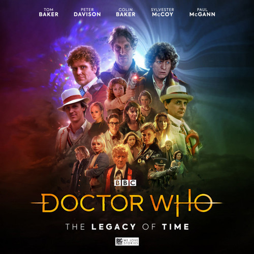 Doctor Who: The LEGACY OF TIME - Big Finish 20th Anniversary Special 6 Audio CD Set (Standard Edition)