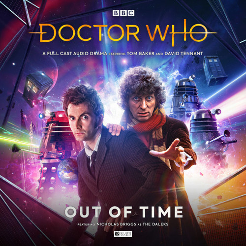 Doctor Who: OUT OF TIME - Starring Tom Baker & David Tennant - Big Finish Audio CD