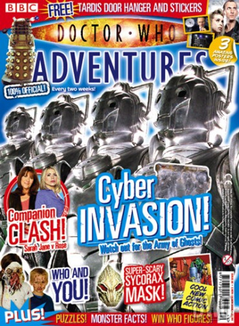 Doctor Who Adventures Magazine #16 - Plus FREE Gifts:
