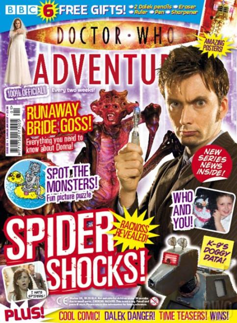 Doctor Who Adventures Magazine #20 - Plus FREE Gifts: Dalek stationery set