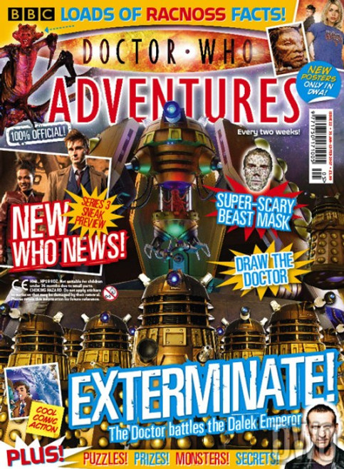 Doctor Who Adventures Magazine #22 - Plus FREE Gifts: