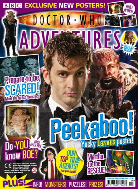 Doctor Who Adventures Magazine #29 - Plus FREE Gifts: