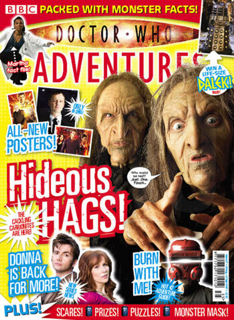 Doctor Who Adventures Magazine #37 - Plus FREE Gifts: Quiz Book 2