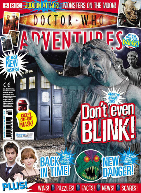Doctor Who Adventures Magazine #38 - Plus FREE Gifts: Loads of Stickers