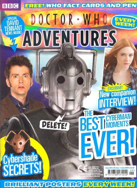 Doctor Who Adventures Magazine #121 - Plus FREE Gifts:
