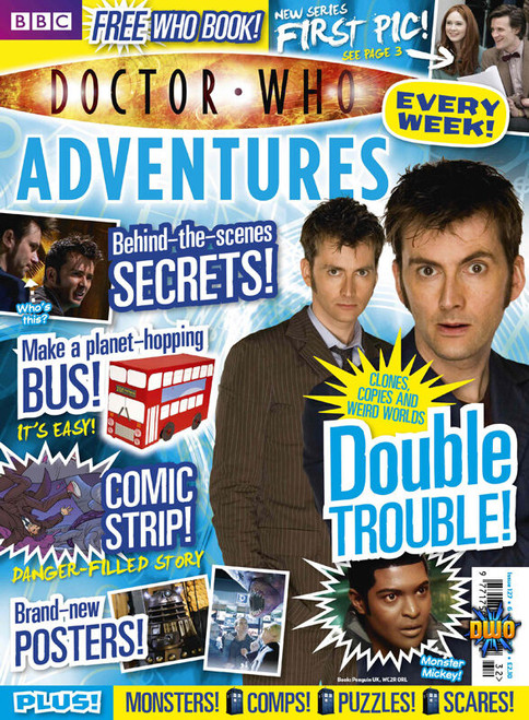 Doctor Who Adventures Magazine #127 - Plus FREE Gifts: Decide Your Destiny Book