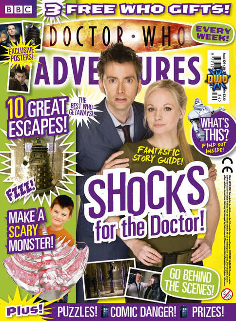 Doctor Who Adventures Magazine #129 - Plus FREE Gifts: