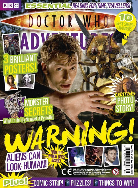 Doctor Who Adventures Magazine #133 - Plus FREE Gifts: Sticker Sets