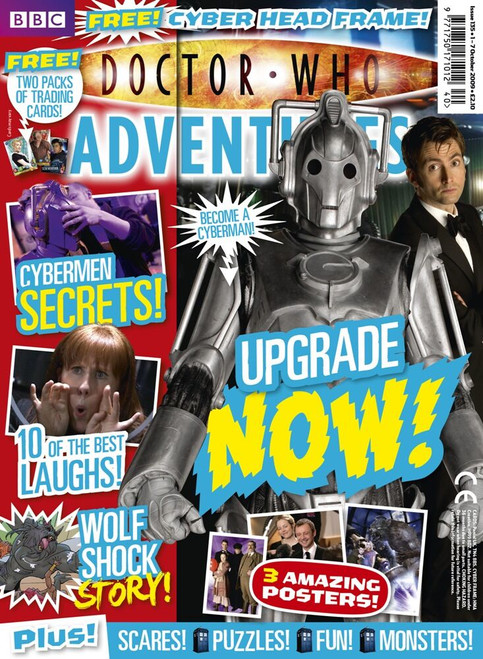 Doctor Who Adventures Magazine #135 - Plus FREE Gifts: