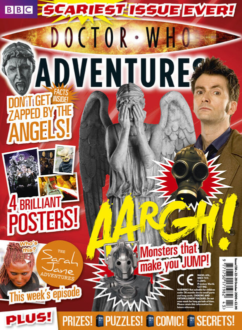 Doctor Who Adventures Magazine #138 - Plus FREE Gifts: Screaming Angel Mask & Claws