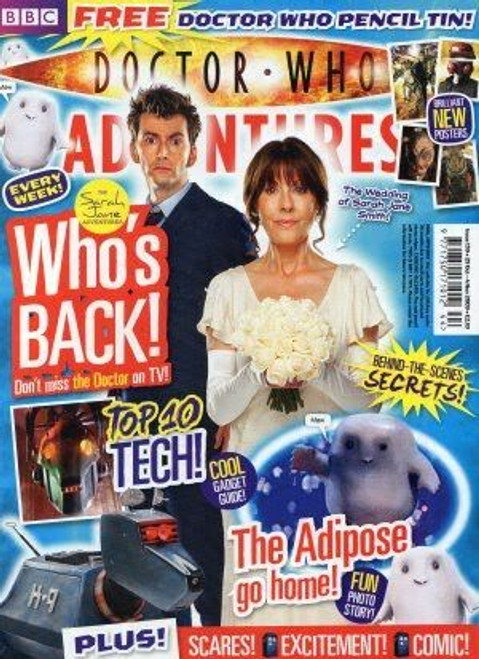Doctor Who Adventures Magazine #139 - Plus FREE Gifts:Pencil Tin