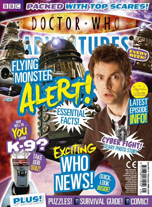 Doctor Who Adventures Magazine #140 - Plus FREE Gifts: