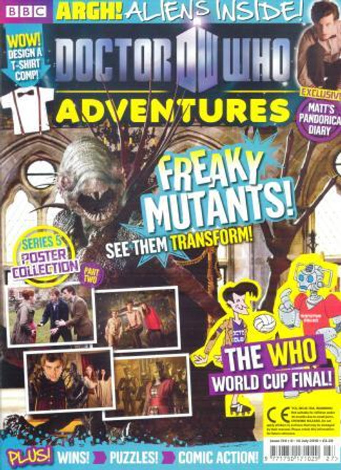 Doctor Who Adventures Magazine #174 - Plus FREE Gifts: