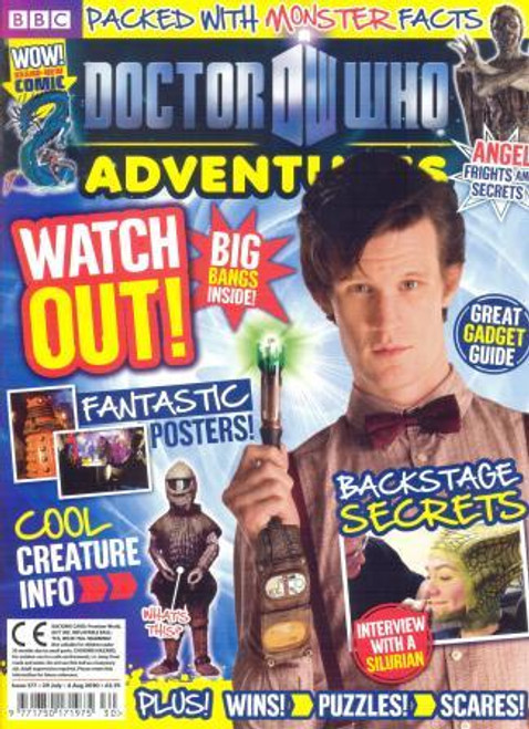Doctor Who Adventures Magazine #177 - Plus FREE Gifts: