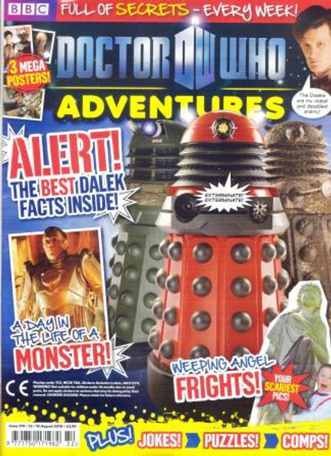 Doctor Who Adventures Magazine #179 - Plus FREE Gifts: