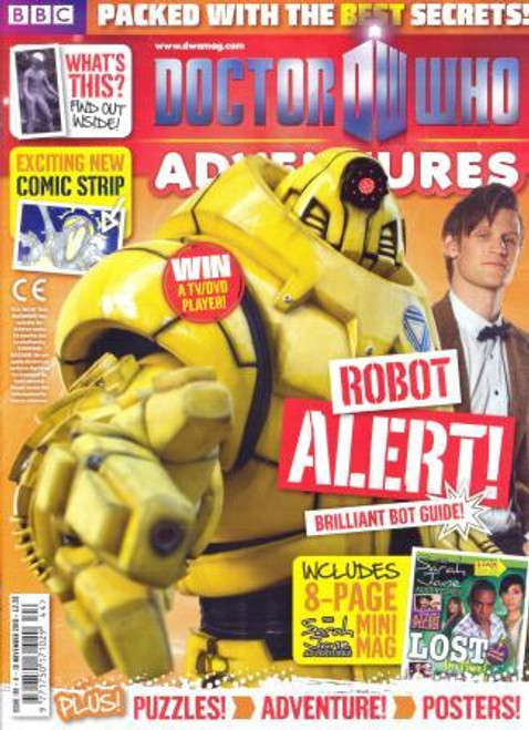 Doctor Who Adventures Magazine #191 - Plus FREE Gifts: