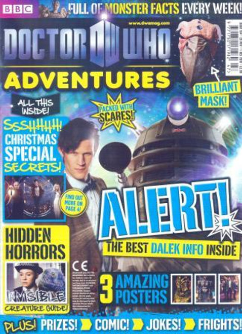Doctor Who Adventures Magazine #194 - Plus FREE Gifts: