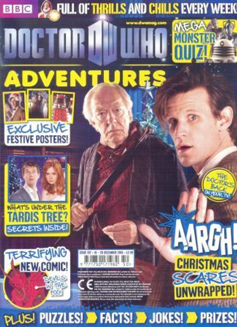 Doctor Who Adventures Magazine #197 - Plus FREE Gifts: