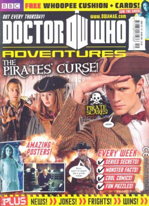 "Doctor Who Adventures Magazine #217 - Plus FREE Gifts: ""Trump"" Whoopee Cushion"