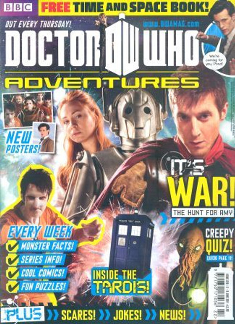 Doctor Who Adventures Magazine #220 - Plus FREE Gifts: Time & Space Book