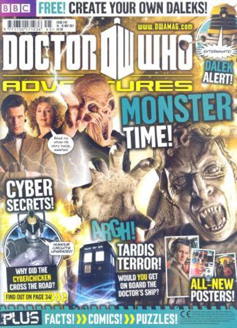 Doctor Who Adventures Magazine #243 - Plus FREE Gifts: Dalek Paint Set