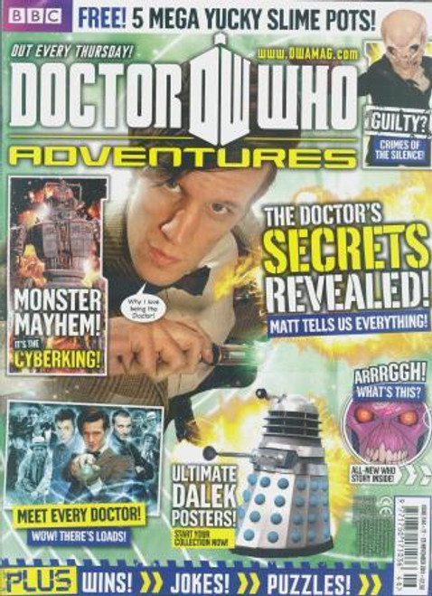 Doctor Who Adventures Magazine #244 - Plus FREE Gifts: