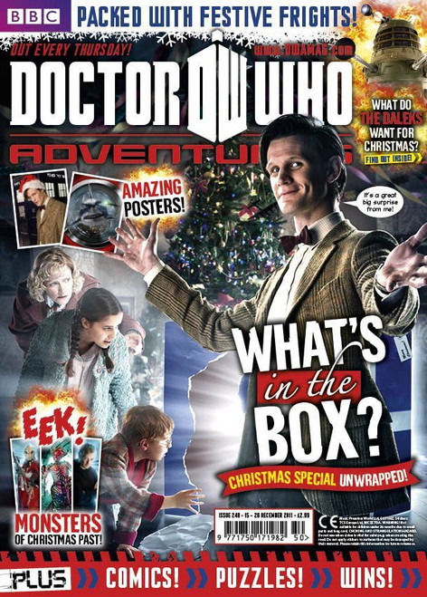 Doctor Who Adventures Magazine #248 - Plus FREE Gifts: